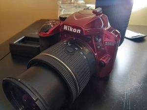 Nikon d3400 with two lenses for Sale in Boca Raton, FL