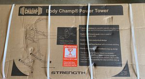Body Champ Power tower new in box for Sale in Raleigh, NC