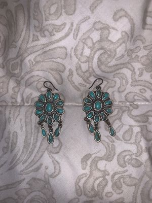 Cute dangle turquoise earrings for Sale in Madera, CA