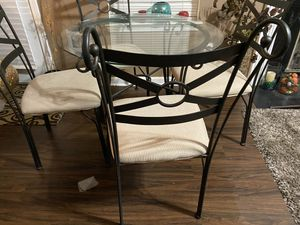 Dining table and 4 chairs for Sale in Snellville, GA