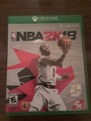 NBA 2K18 Xbox one for Sale in Peoria, IL