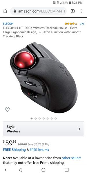 Wireless mouse for Sale in Saint Joseph, MO