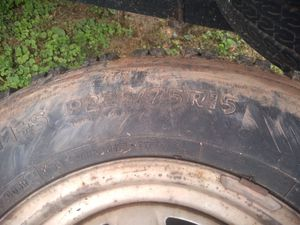 225/ 15 Ms Ford rims for Sale in Parkersburg, WV