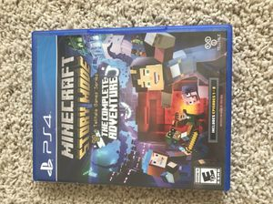Minecraft Story Mode PS4 Game for Sale in Wenatchee, WA
