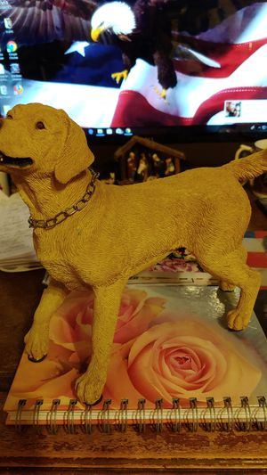 Yellow Lab Statue for Sale in Cleveland, OH