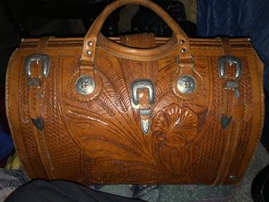 American west hand detailed leather for Sale in Amarillo, TX