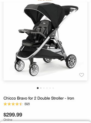 Chicco Bravo for 2 for Sale in Rosemont, IL