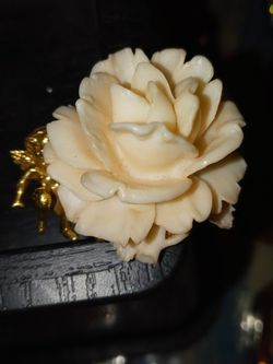 Beautiful Floral Brooch With Cherub Old Jewelry for Sale in Denver,  CO