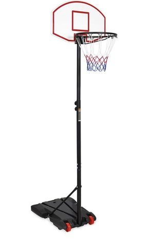 Portable Height-Adjustable Basketball Hoop System Stand - Black for Sale in Las Vegas, NV