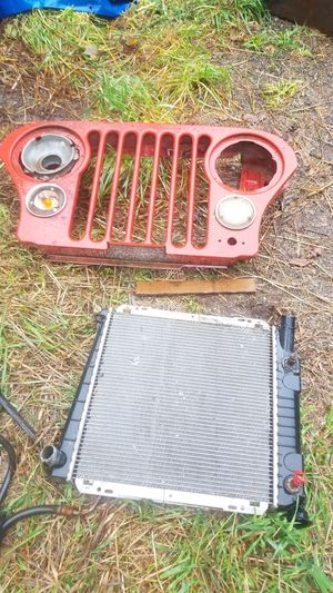 Jeep parts and radiator for Sale in Elma, WA