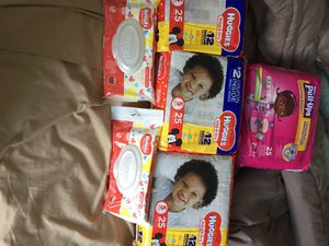 Huggies Pampers & Huggies Pull-ups for Sale in Chicago, IL