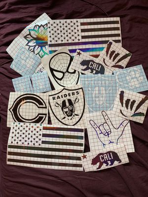 Custom Vinyl Decals Stickers for Sale in Sacramento, CA