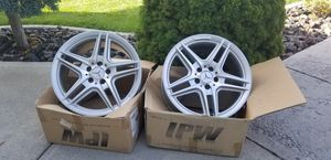 2 Amg Mercedes-Benz Rims size 8.5 x 18 for Sale in Pasco, WA