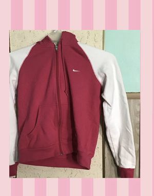 Nike hot pink hoodie size large for Sale in York, PA