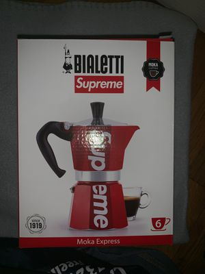 Supreme Bialetti Moka Express Red for Sale in Freehold, NJ