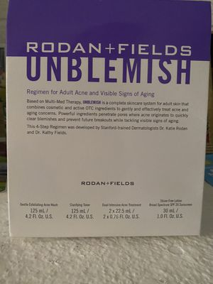 Rodan and fields Unblemish kit. $200 originally for Sale in Fort Lauderdale, FL