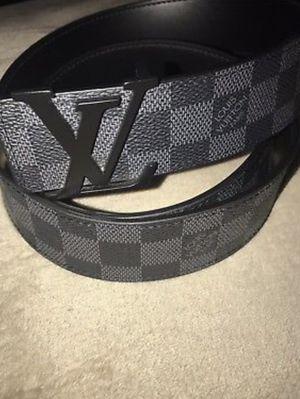 Black Damier Louis Vuitton Belt for Sale in Durham, NC