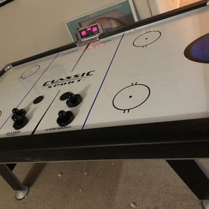 Air Hockey Table with Electronic Scorer for Sale in Gilbert, AZ