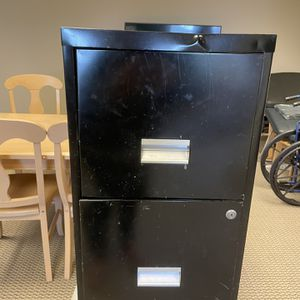 Free Black File Cabinet for Sale in Newport Beach, CA