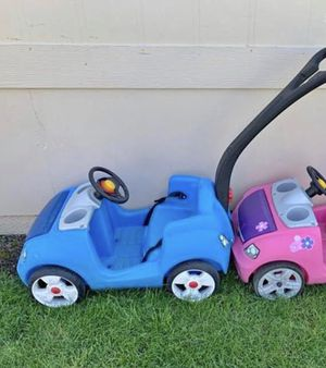Blue kid car great condition for Sale in Portland, OR