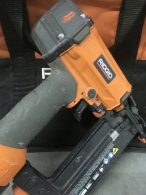 Ridgid nail gun for Sale in Seattle, WA