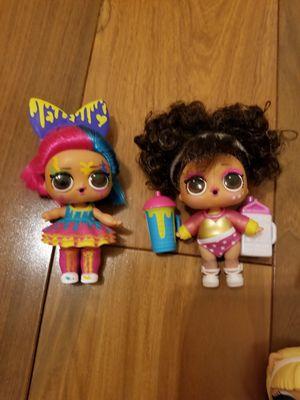 Hairgoals fuzzy fluffy pets lol dolls Diva Stripes Dawr Tide Kitty 500 Splits Splatters for Sale in Davie, FL