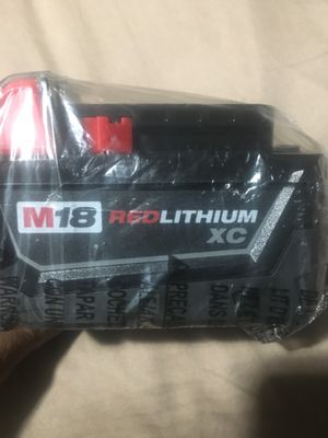 Milwaukee M18 battery for Sale in Alameda, CA