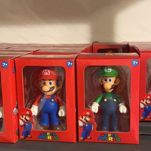 Mario And Luigi 5 Inches Figure for Sale in Hollywood, FL