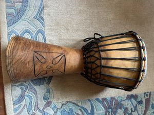 """Djembe 12"""" drum with custom storage bag. for Sale in Portland, OR"""