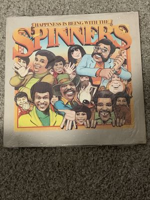 1976 Atlantic LP Happiness Is Being With The Spinners Vinyl Original Shrink for Sale in New Braunfels, TX