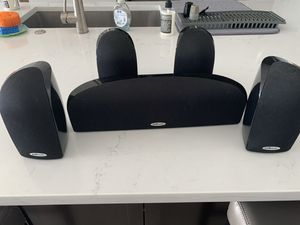 Polk Audio surround sound home theater speakers for Sale in Tampa, FL