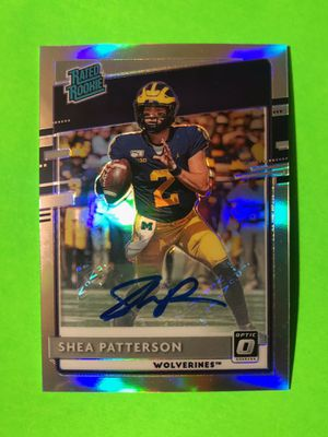 Shea Patterson Signed Card for Sale in Fresno, CA