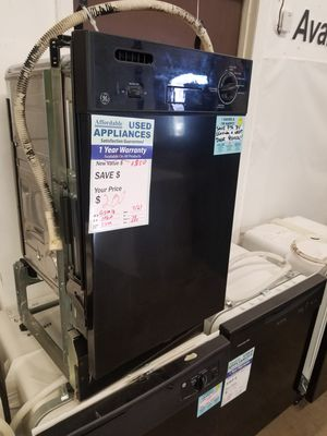 """Save tons on this 18"""" wide black dishwasher #13 for Sale in Denver, CO"""