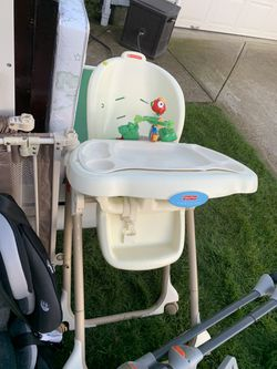 Make offer baby high chairs, changing table, pack and play mattress for Sale in Vancouver,  WA