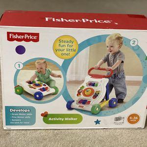 Fisher Price Activity Walker for Sale in Woodbridge, VA