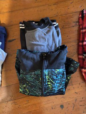 Zip jacket and sweatshirt. Size 8-10/ medium for Sale in San Diego, CA