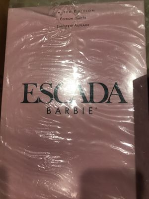 Limited Edition ESCADA Barbie for Sale in Pacifica, CA