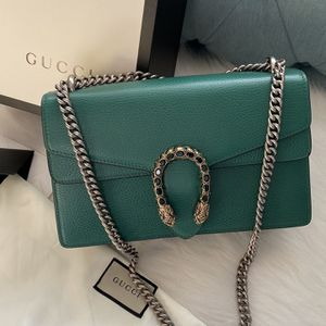 Green Gucci Dionysus leather shoulder bag for Sale in East Orange, NJ