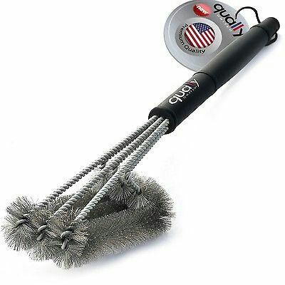 3 in 1 BBQ Grill Brush 18""