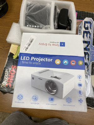 Projector (extra small & portable) for Sale in Raleigh, NC