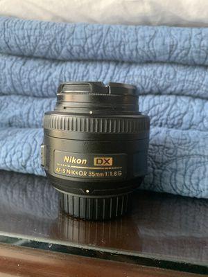Nikon 35mm lens for Sale in Blacksburg, VA