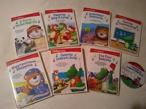 Baby Genius 8 DVD set for Sale in Lockport, IL