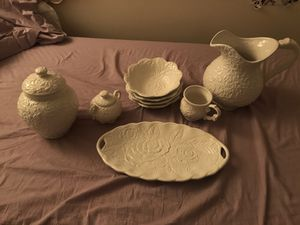 Rose plates and decor for Sale in Sterling, VA