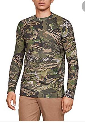 Under Armour Mens Size SM Shirt ColdGear Reactor Base Mid Season Long Sleeve CAMO for Sale in BVL, FL