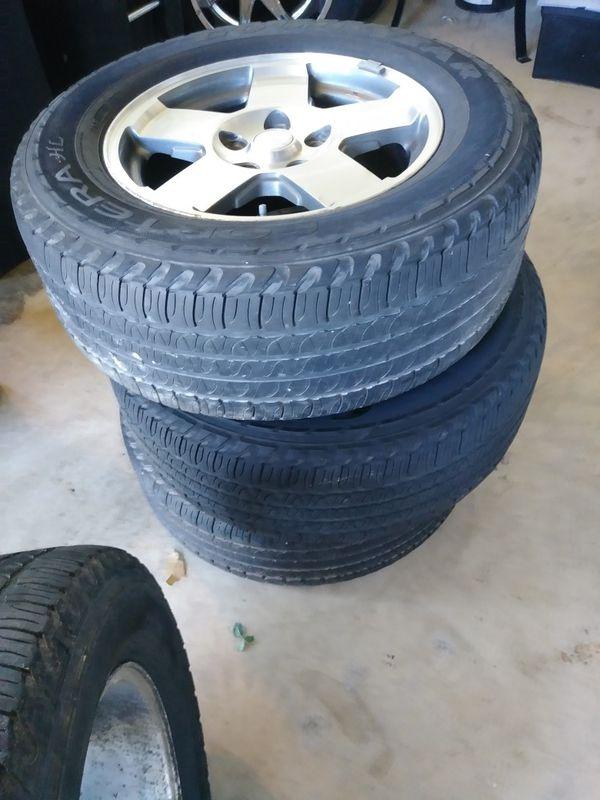 17 inch Jeep Wheels