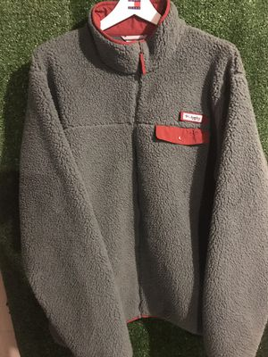 Columbia Heavy Sherpa Fleece Zip Jacket lined PFG for Sale in Canton, OH