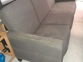 Grey Couch With Pull Out Bed for Sale in Belle Isle,  FL