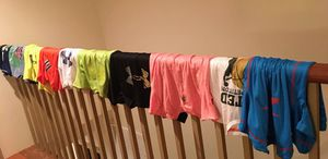 Under Armor Dri Fit Boys T-Shirt YM in very good condition for SALE $5 & $3 each for Sale in Herndon, VA