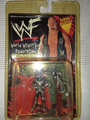 1998 WWF Stone Cold diecast keychain for Sale in Calion, AR