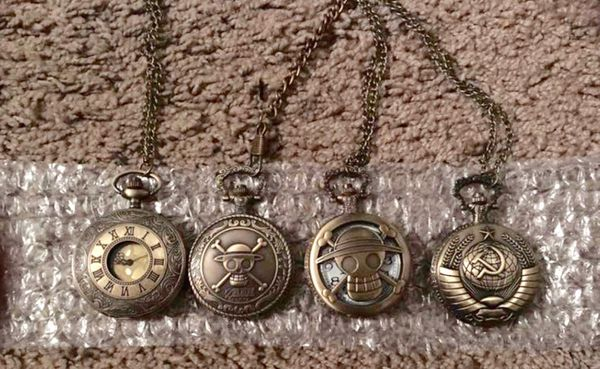 One Piece Anime Pocket watches